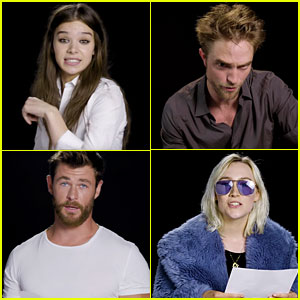 Hailee Steinfeld, Robert Pattinson, Chris Hemsworth, & More Sing Bruno Mars' 'That's What I Like' (Video)