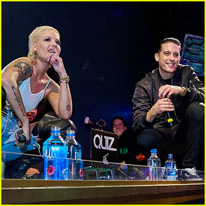Halsey & G-Eazy Team Up for Performance in Her Home State