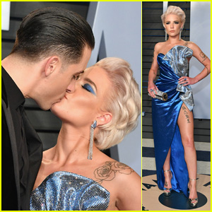 Halsey & G-Eazy Passionately Kiss at Vanity Fair's Oscars Party