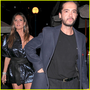 Heidi Klum Goes to Dinner With Tokio Hotel's Tom Kaulitz!