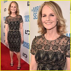 Helen Hunt Premieres Her New Movie 'The Miracle Season' in WeHo
