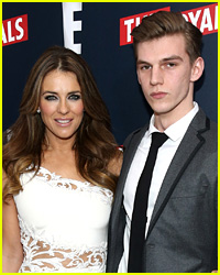 Elizabeth Hurley Shares Brutal Photo of Nephew's Stab Wound (Graphic Image)