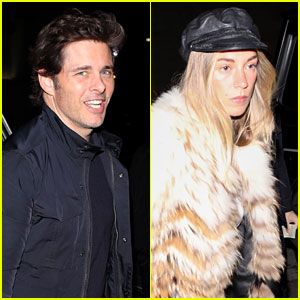 James Marsden & Girlfriend Edei Couple Up for Dinner at Craig's