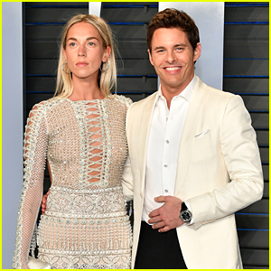 James Marsden & Girlfriend Edei Make Rare Red Carpet Appearance at Oscars Party!