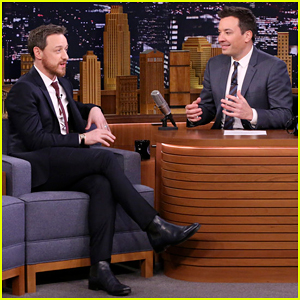 James McAvoy Reveals His Favorite Thing About Doing Animated Films on 'Tonight Show'