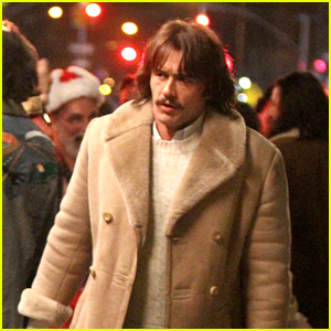 James Franco Films a Christmas Scene on the Set of 'The Deuce'