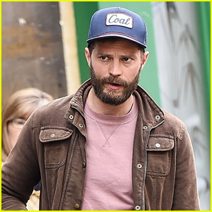 Jamie Dornan Heads Out for a Daddy-Daughter Day in England!