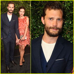 Jamie Dornan & Wife Amelia Arrive in Style for Chanel Oscars Pre-Party!