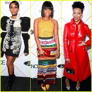 Janelle Monae & Tiffany Haddish Step Out for Essence's Oscars Luncheon
