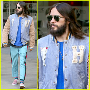 Jared Leto Dons Colorful Ensemble Between Thirty Seconds to Mars Shows