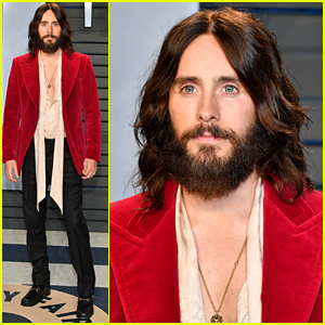 Jared Leto Celebrates 'Blade Runner 2049' Oscar Wins at Vanity Fair Party!
