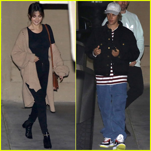 Selena Gomez & Justin Bieber Head Out in Separate Cars After Church