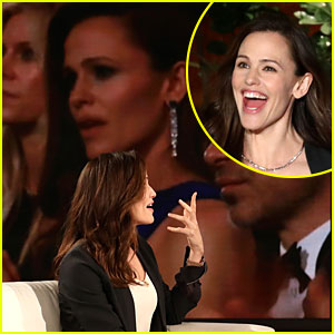 Jennifer Garner Reacts to Oscars Meme on 'Ellen' - Watch Now
