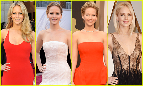 Look Back at Jennifer Lawrence's Oscars Red Carpet Fashion