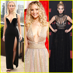 Jennifer Lawrence's 'Red Sparrow' Press Tour Looks - See Every Outfit!