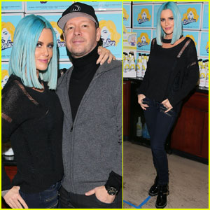 Jenny McCarthy Celebrates Vodka Launch With Donnie Wahlberg!