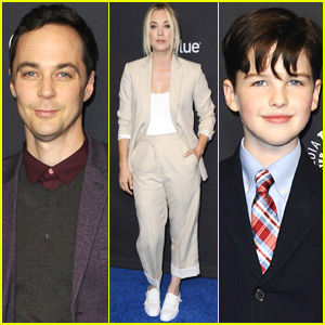 Jim Parsons & Kaley Cuoco Join 'Young Sheldon' Star Iain Armitage at Paleyfest 2018!