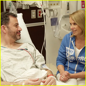 Jimmy Kimmel Gets Colonoscopy, Documents the Procedure with Katie Couric's Help (Video)