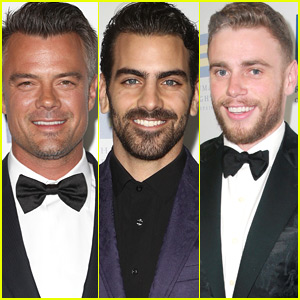 Josh Duhamel, Nyle DiMarco, & Gus Kenworthy Suit Up for Human Rights Gala 2018