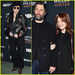 Julianne Moore & Bart Freundlich Join Susan Sarandon at 'Arthur Miller: Writer' Screening