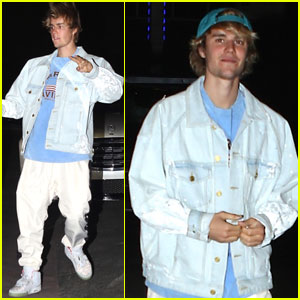 Justin Bieber Stops By Concert With Baskin Champion!