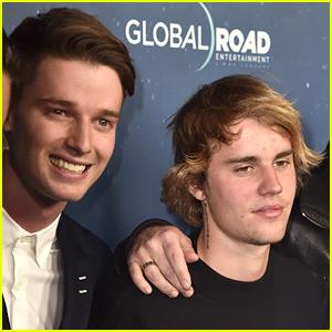 Justin Bieber Supports Pal Patrick Schwarzenegger at 'Midnight Sun' Premiere!