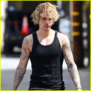Justin Bieber Closes Out His Weekend with a Workout