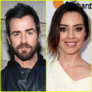 Justin Theroux Seen Out with Aubrey Plaza After Jennifer Aniston Split