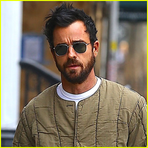 Justin Theroux Steps Out in NYC Amid Split from Jennifer Aniston