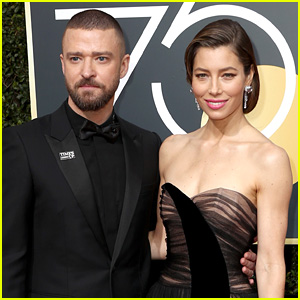 Justin Timberlake Leaves for Tour with Jessica Biel & Son Silas!