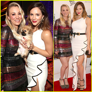 Kaley Cuoco & Katharine McPhee Honor Their Pups at Ties & Tails Gala!