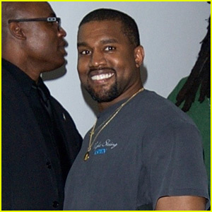 Kanye West Grabs Dinner with Friends in Beverly Hills