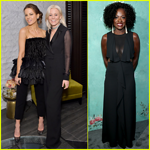 Kate Beckinsale, Elizabeth Banks, & Viola Davis Celebrate Female Oscar Noms!