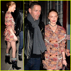 Kate Bosworth & Michael Polish Couple Up for NYC Dinner Date Amid 'Tate' Movie News