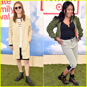 Kate Bosworth & Tiffany Haddish Attend Hunter for Target Ultimate Family Festival