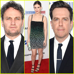 Kate Mara Joins Jason Clarke & Ed Helms at 'Chappaquiddick' Premiere in Beverly Hills