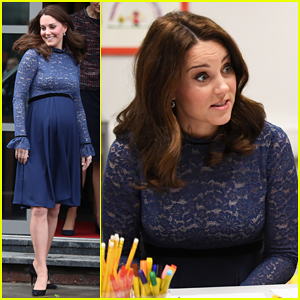 Kate Middleton Goes Solo To Open New Place2Be Headquarters!