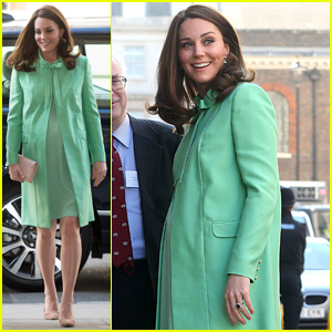 Pregnant Kate Middleton Steps Out as Due Date Draws Closer!