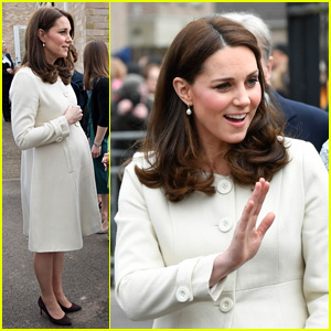 Kate Middleton Steps Out Weeks Before Baby #3's Due Date!