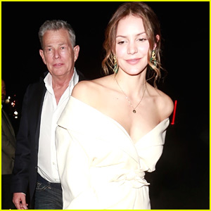 Katharine McPhee & Boyfriend David Foster Couple Up for Pre-Oscars Party