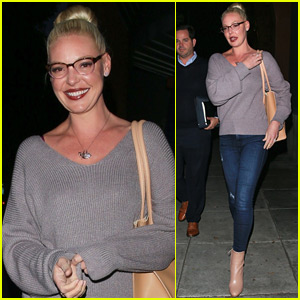 Katherine Heigl Steps Out for Dinner with Friends in Beverly Hills