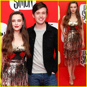Katherine Langord & Nick Robinson Premiere 'Love, Simon' In Australia