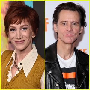Kathy Griffin Defends Jim Carrey Amid Backlash Over Portrait of Sarah Huckabee Sanders