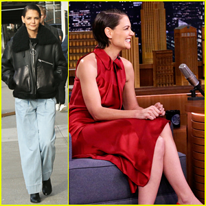 Katie Holmes Tells Jimmy Fallon She's Reunting with 'Dawson's Creek' Cast Soon!