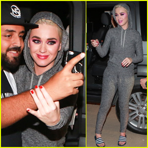 Katy Perry Greets Fans at Rio Airport!
