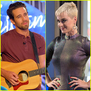 Katy Perry Has the Hots for 'Idol' Contestant Trevor Holmes!