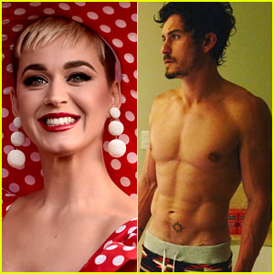 Katy Perry Is Loving Orlando Bloom's Washboard Abs (And So Are We)