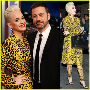 Katy Perry Talks 'American Idol' & Explains The Term Wig on 'Jimmy Kimmel Live'!