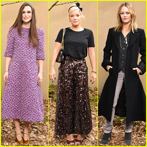 Keira Knightley, Lily Allen & Vanessa Paradis Catch Chanel Paris Fashion Week Show!
