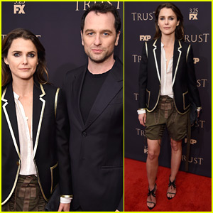 Keri Russell & Matthew Rhys Couple Up for FX All-Star Party!